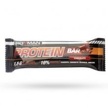 Батончики Ironman Protein Bar with Collagen 50гр