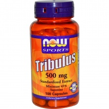 Тестобустер NOW Foods Tribulus  500мг 100 капсул