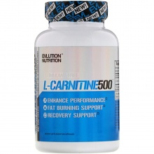 Л-карнитин EVLution Nutrition L-carnitine 500 60 caps