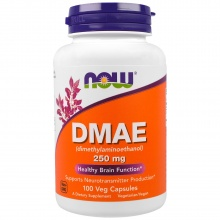 Антиоксидант NOW DMAE 250 mg 100 cap